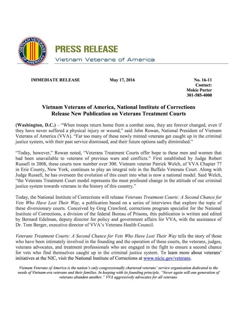 VVA-Press-Release-16-0111