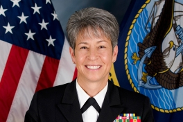 Retired Three-Star Vice Admiral Nanette DeRenzi