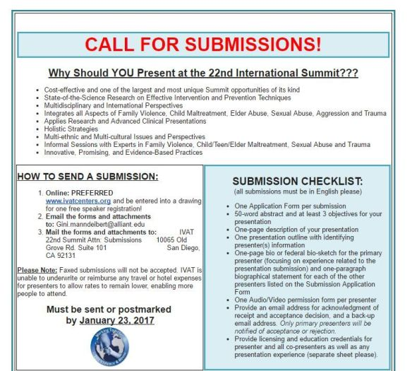 call-for-submissions-22nd-annual-international-summit-on-violence-abuse-and-trauma